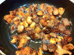 garlic vinegar  pork 014