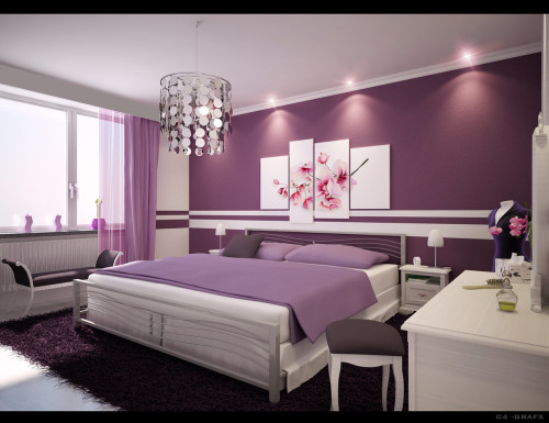 Ten Purple Room Inspiration