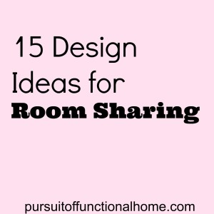 15 Design Ideas for Room Sharing