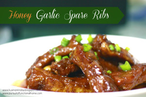 Honey Garlic Spare Ribs 4