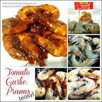 Tomato Garlic Prawns – Easy Recipe