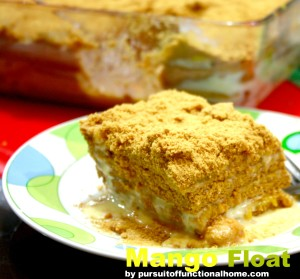 The Best Mango Float Recipe