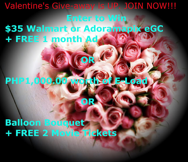 Valentine's Give-away