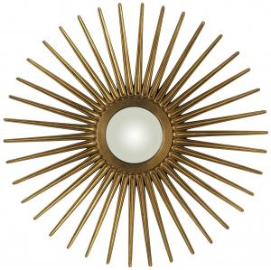 DIY Sunburst Inspired Mirror