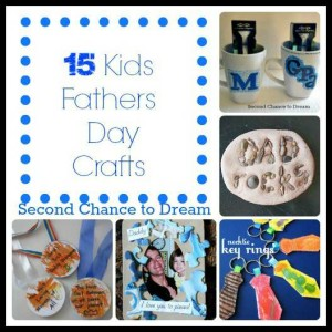 15 Kids Father's Day Crafts
