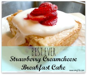 Best ever strawberry creamcheese cake