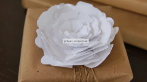 Paper Flowers by Priyam of Simple Joys
