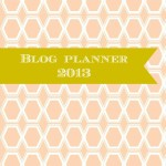 honey comb blog planner