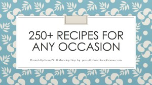 250+ Recipes for any occasion