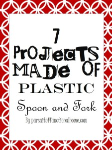 7 Projects Made of Plastic Spoon and Fork
