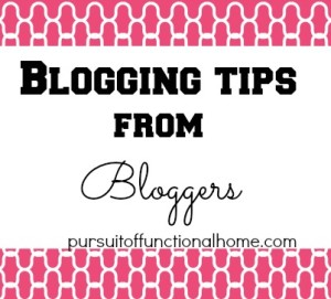 Blogging Tips from Bloggers