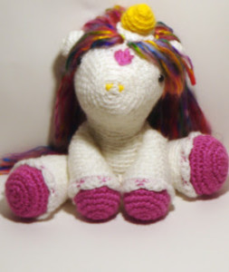 Pattern Review: Hermione the Unicorn by Dawn Toussaint