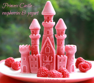 Princess Castle Frozen Raspberries and Yogurt