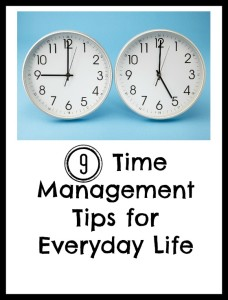 Time Management Tips  by: Barb of Second Chance to Dream