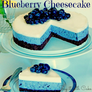 Blue Berry Cheesecake  by: Shamene of Say it With Cake