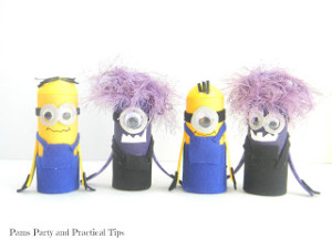 Minions Craft by Pams Party and Practical Tips