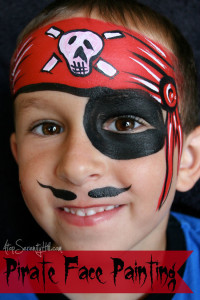 Pirate Face Painting By A Top Serenity Hill