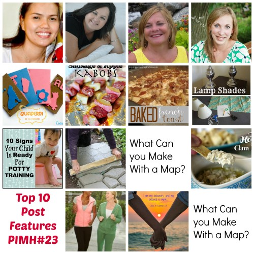 Top 10 Features from Pin It Monday Hop #23