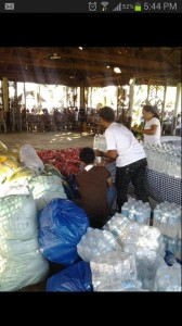 Relief Goods Operation at Sagay, Cadiz Negros