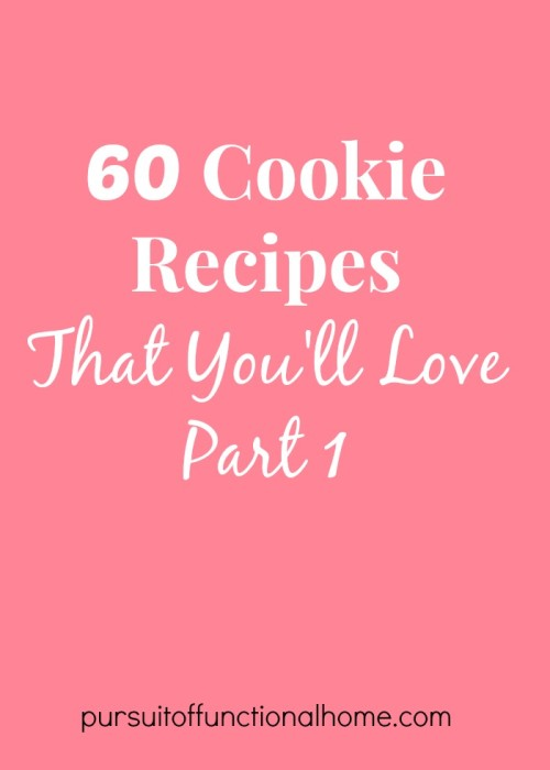 60 Cookie Recipes