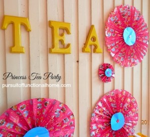 Princess Tea Party Decor 2