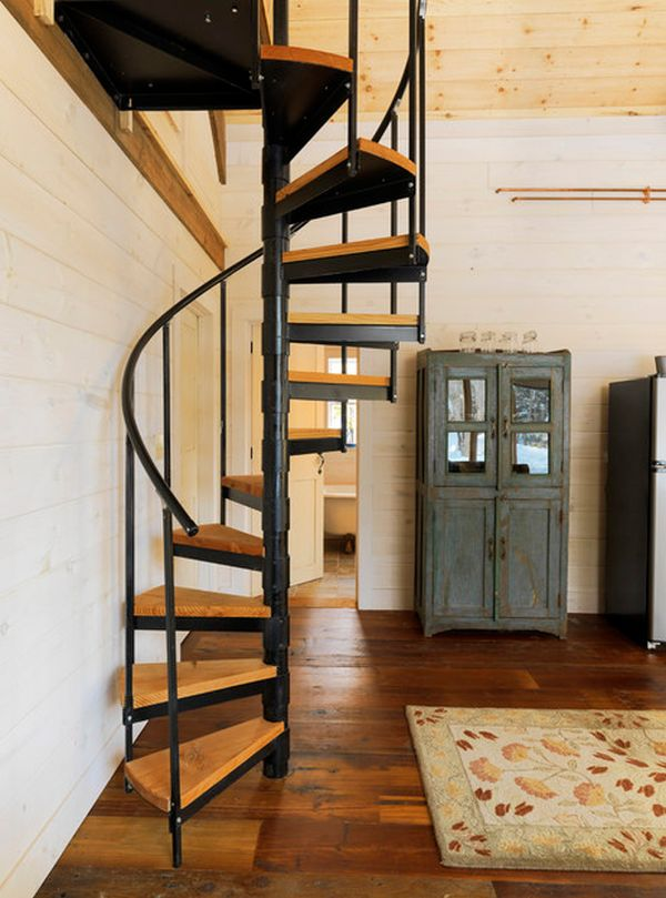 5 Things You Didn't Know Your Stairs Could Do. Spiral Staircase.