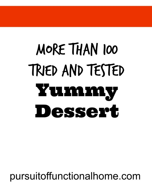 100+ Tried and Tested Dessert Recipes by Bloggers