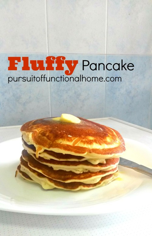How to Make Fluffy Pancake