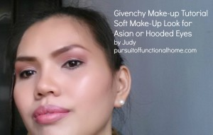 Givenchy Make-up Tutorial Soft Make-up Look for Asian or Hooded Eyes