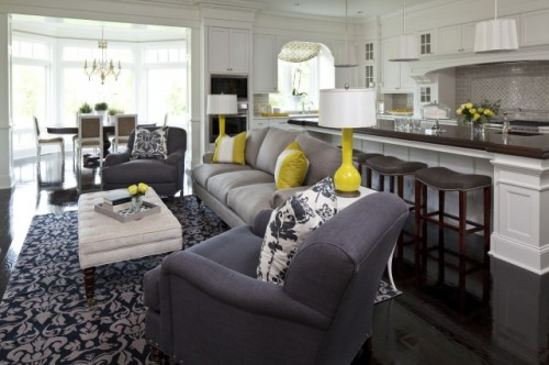 How To Create An Open Concept With Decor Only 2