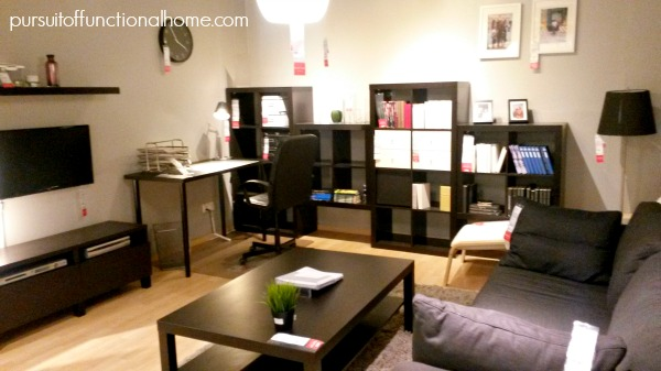 Ikea Living Office Room resize