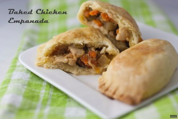 Baked Chicken Empanada. selling empanada in cebu city