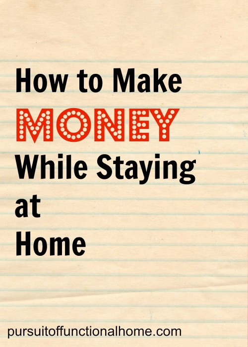 How to Make Money While Staying at Home post image