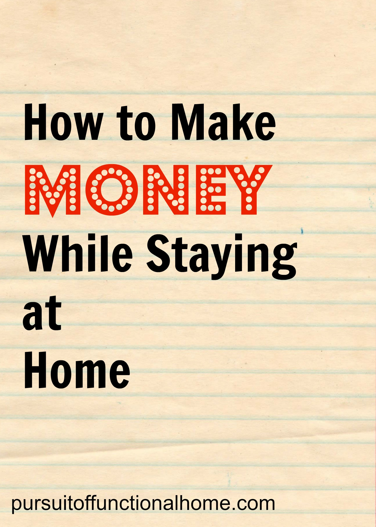 20 Genius Ways to Make Money at Home (Earn an Extra …