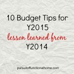 10 Budget Tips for 2015