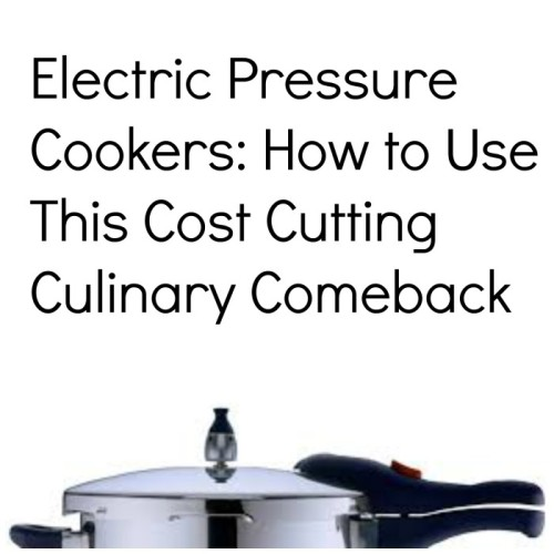 Electric Pressure Cookers: How to Use This Cost­ Cutting Culinary Comeback