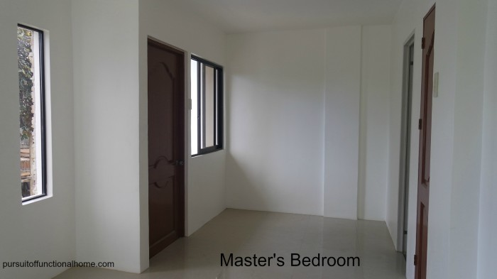 Town House Master's Bedroom, Master's Bedroom, Town House in cebu city