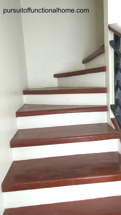 town house stairs