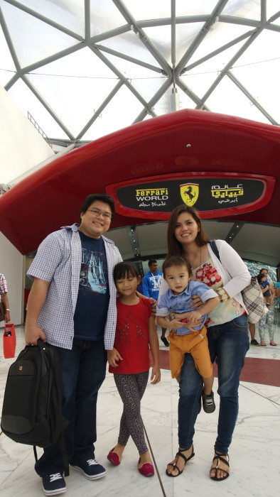 Ferrari World Abu Dhabi. Blogger in Abu Dhabi, Filipino in Abu Dhabi