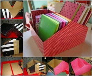 clever ways to use shoe boxes, drawer divider using shoe boxes, cheap organizers, how to use shoe boxes