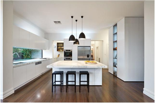 Kitchen Solutions. White Kitchen. Prestine white kitchen