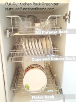Pull out Kitchen Wire Rack