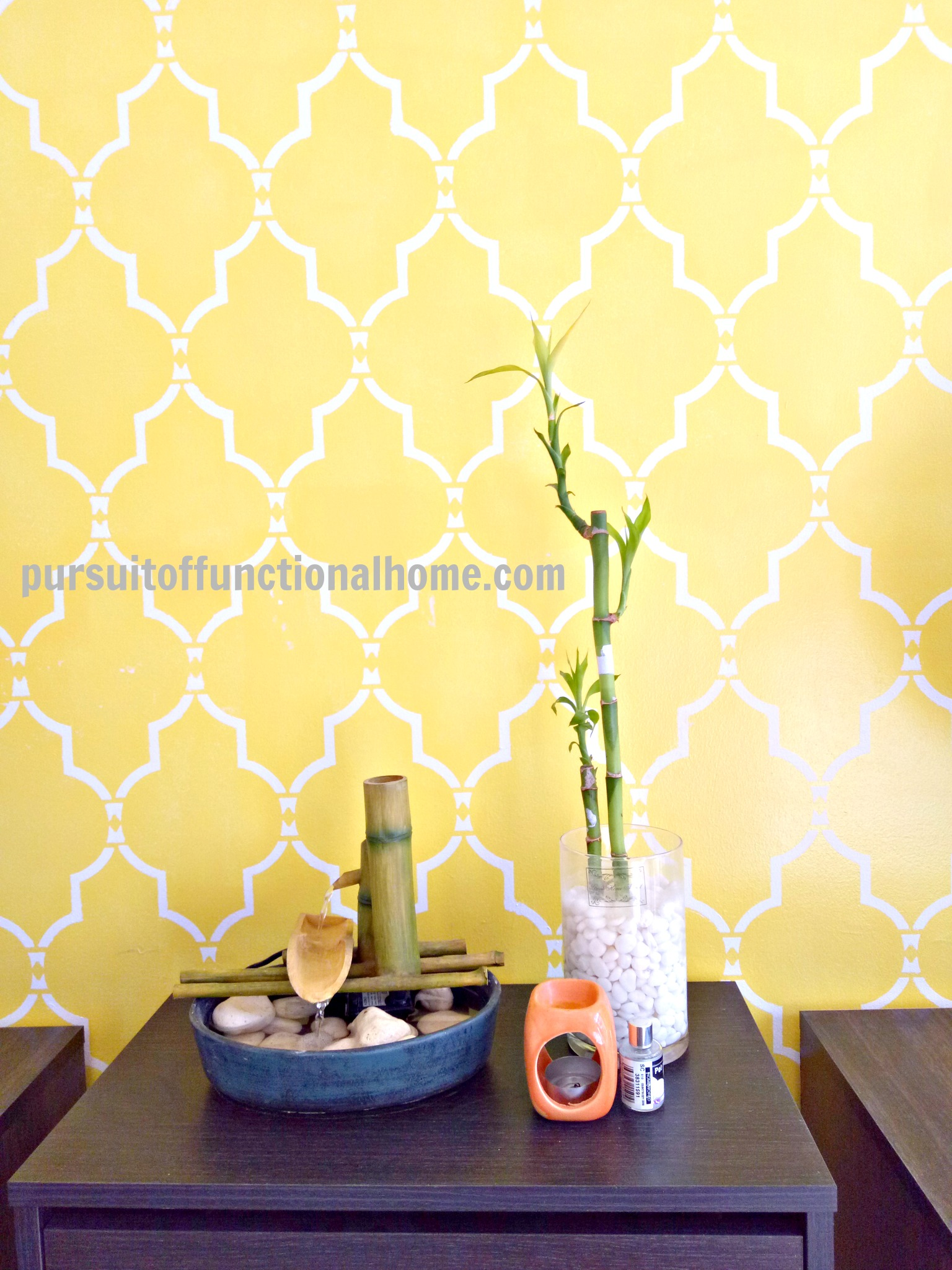 Update: Sophia Trellis Wall Stencil Pattern – Pursuit of Functional Home