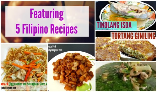 Featuring 5 Simple Filipino Dishes