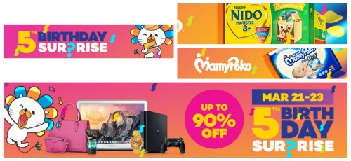 Lazada's Birthday Sale Day 2