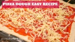 Not Oily Pizza Dough Easy Recipe