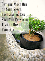 Get the Most Out of Your Space: Landscaping Can Save You Plenty of Time if Done Properly