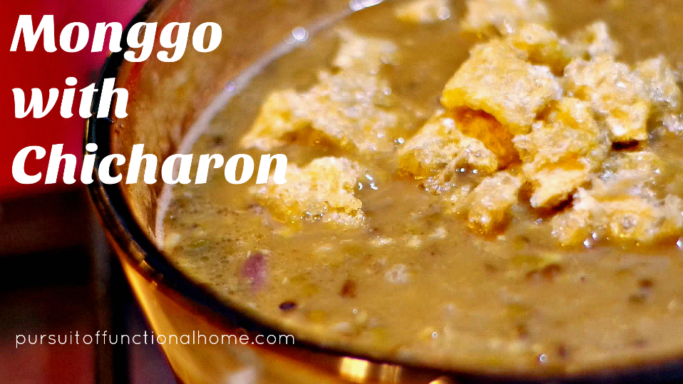 how to cook monggo beans